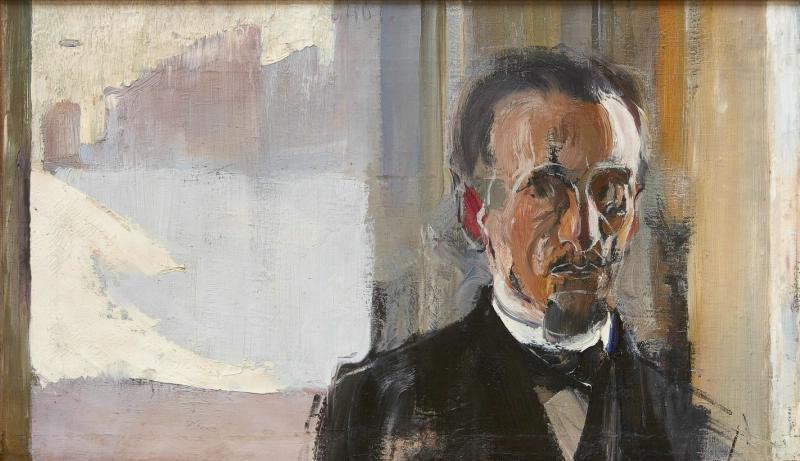 Семен Гавриилович Никифоров. Неоконченный мужской портрет