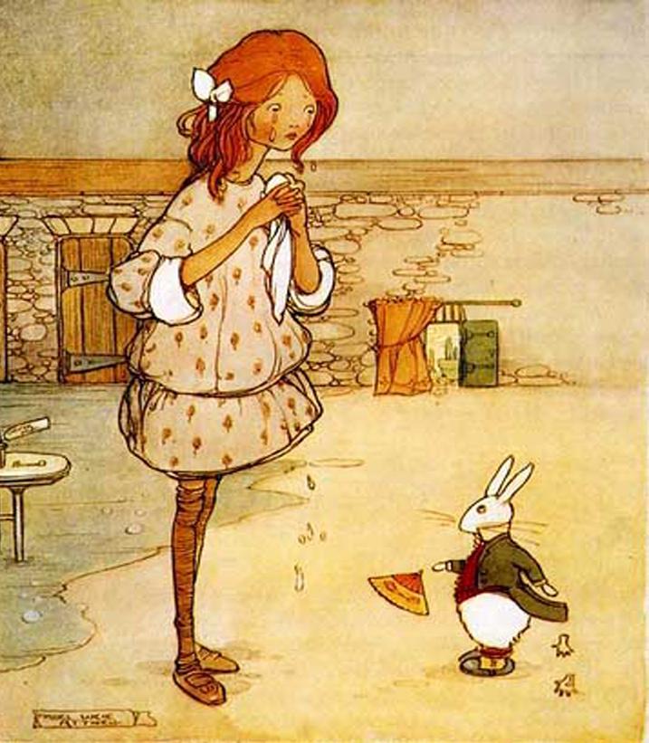 Мейбл Люси Аттвелл. Встреча с кроликом