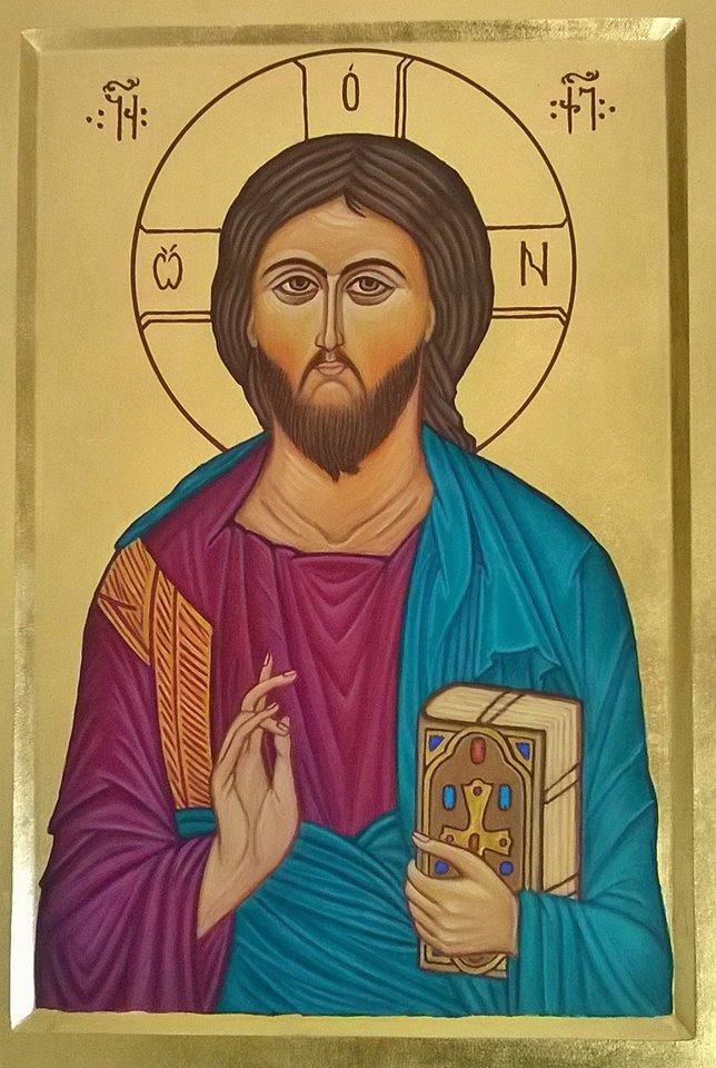 Badri Bukia. Icon of christ the savior