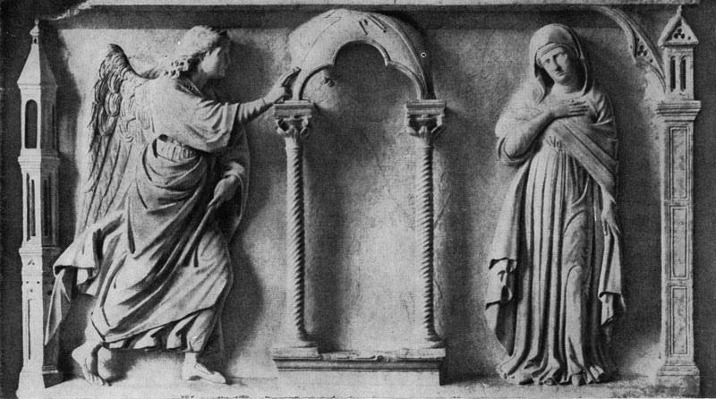 Arnolfo di Cambio. Annunciation