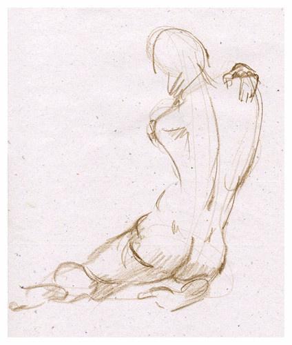 Svetlana Holodnyak. Sketch