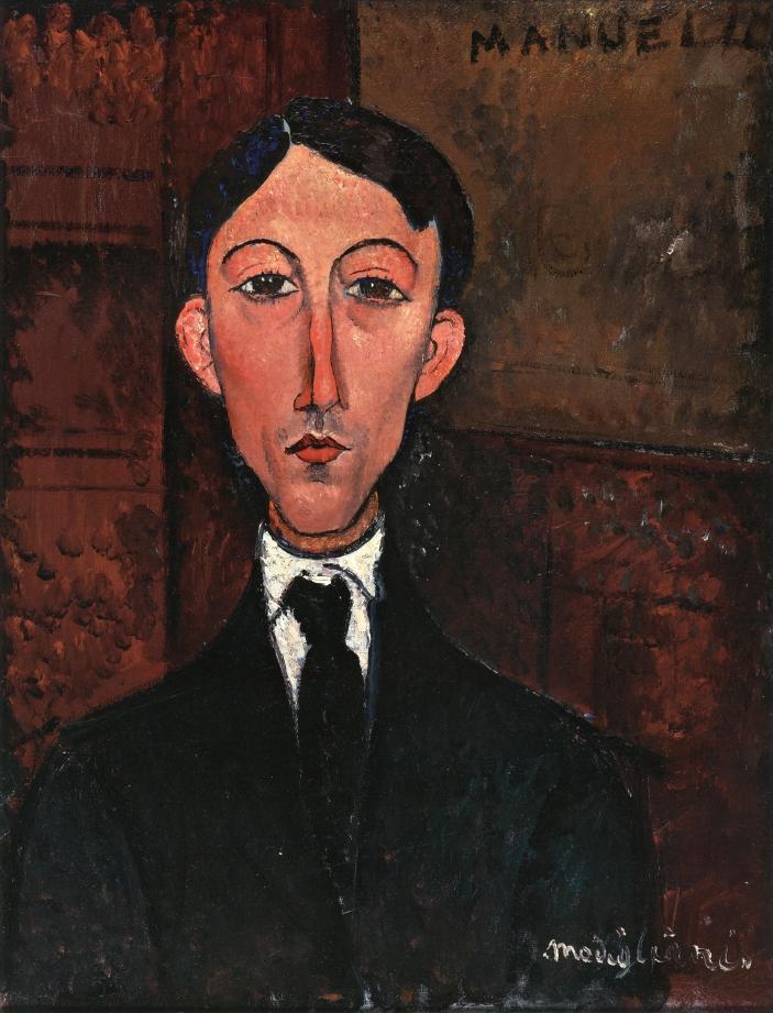 Amedeo Modigliani. Portrait Of Manuel Humbert