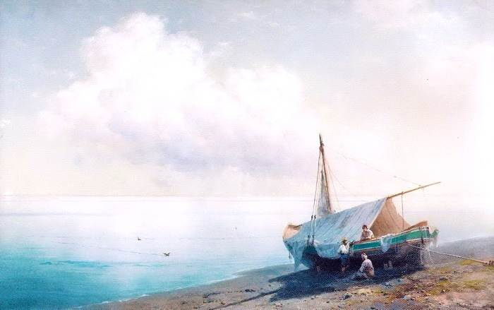 Ivan Aivazovsky. Quiet sea