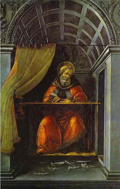 Сандро Боттичелли. Святой Августин