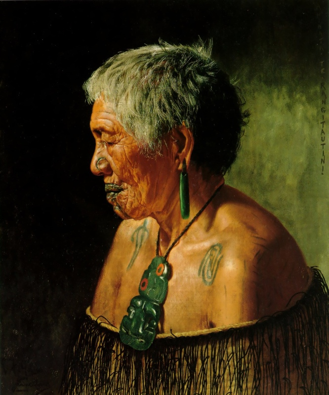 Чарльз Голди. Ахината Те Рингитаунти племени тухоранги
