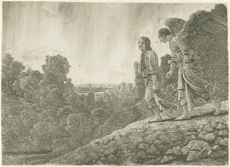 Hercules Segers. Tobias and the angel