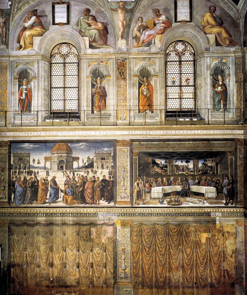 Микеланджело Буонарроти. Стена Сикстинской капеллы