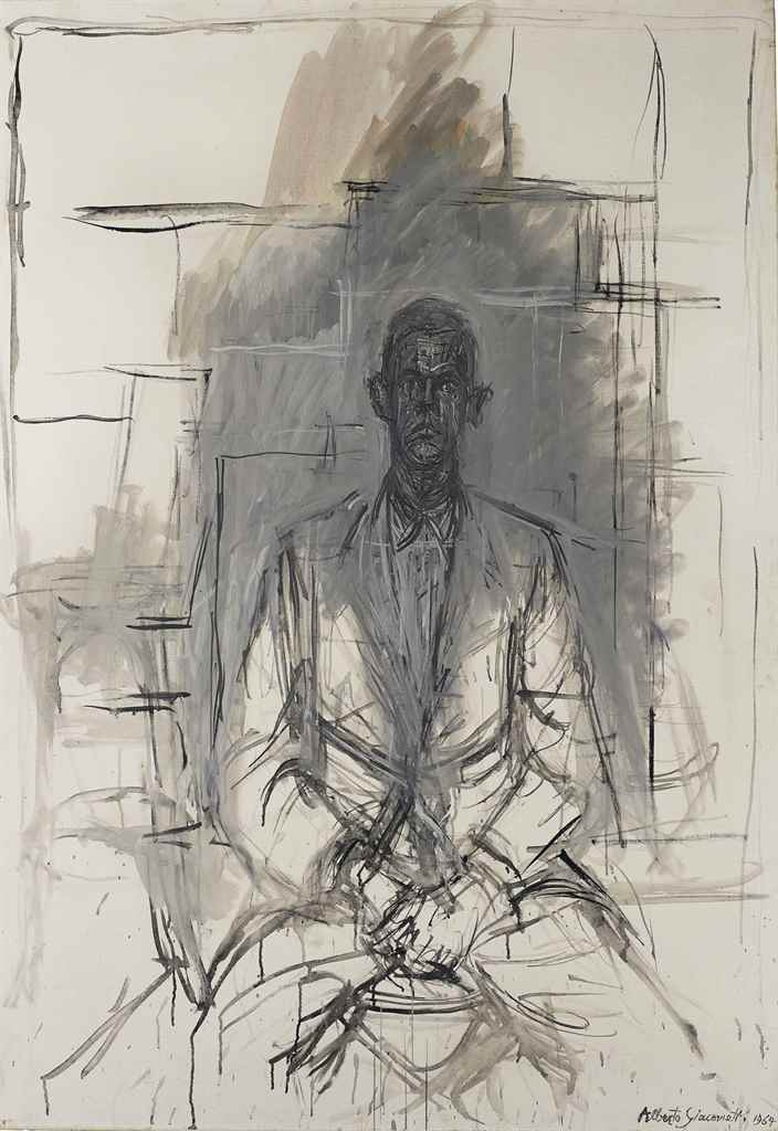 Alberto Giacometti. A Portrait Of James Lord