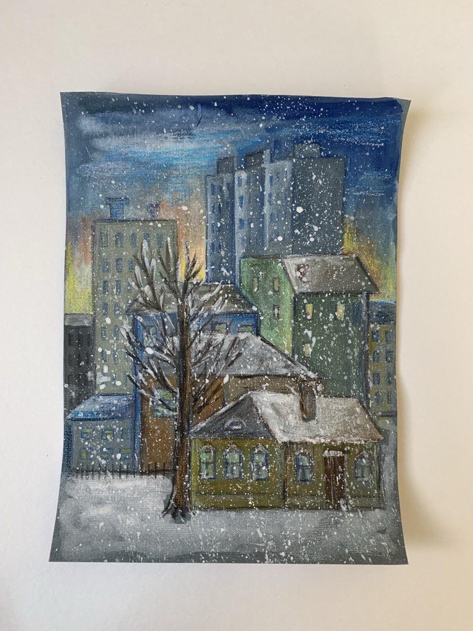 Lemberg Helen. Winter in the City