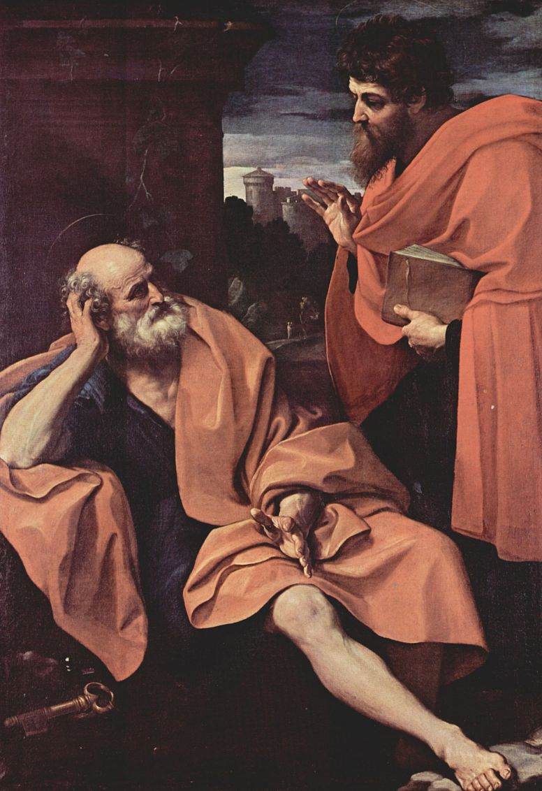 Guido Reni. SV. Peter and St. Paul