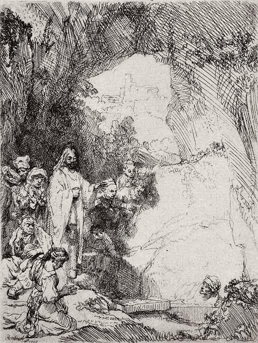 """Рембрандт Харменс ван Рейн. Так называемое """"Малое воскрешение Лазаря"""""""