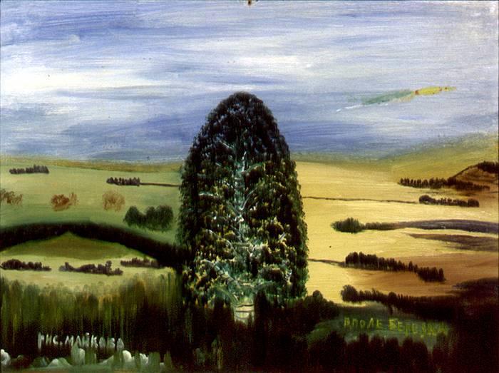 Love Mikhailovna Maikova. In the field of birch