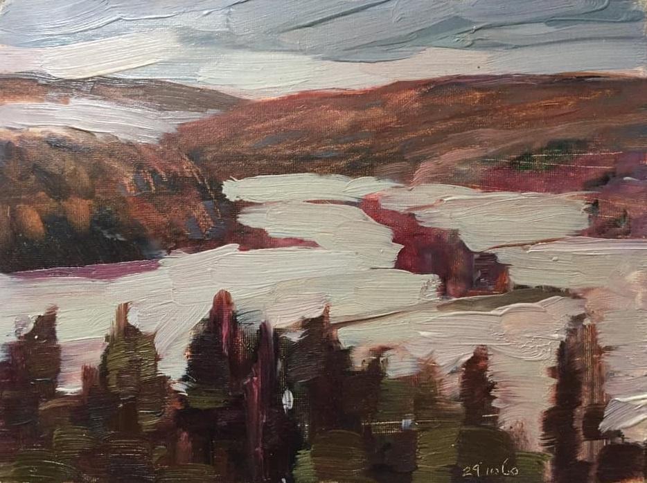 Mikhail Mikhailovich Gavrilov. Landscape