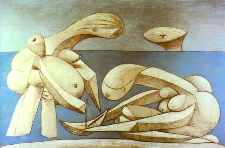 Пабло Пикассо. На пляже