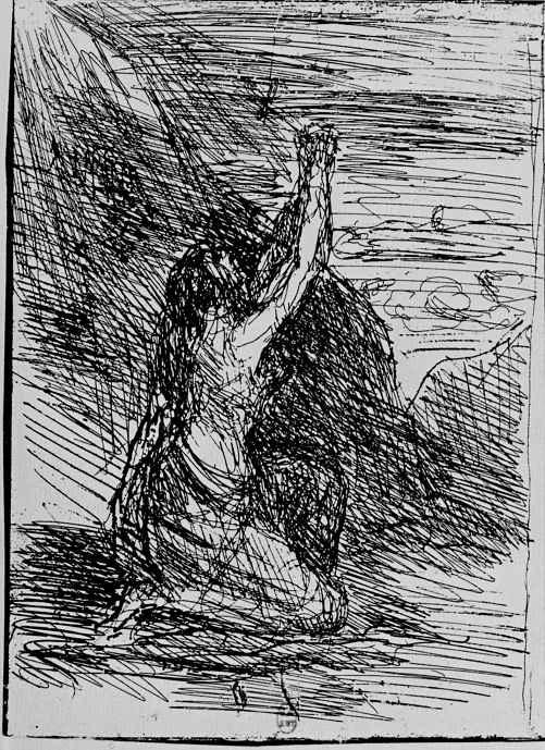 Камиль Коро. Молящаяся на коленях Магдалина