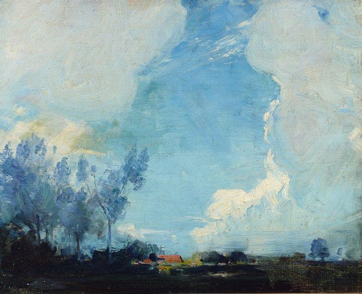 Arthur Ernest Streaton. Sunset