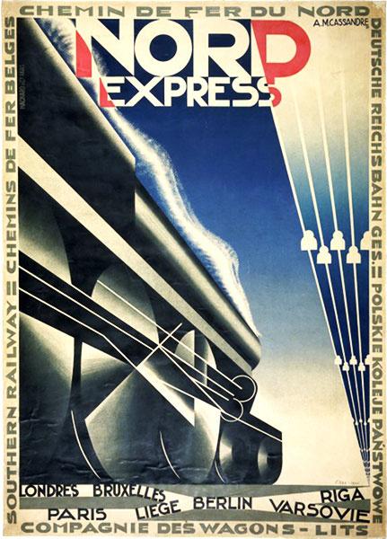 Adolf Muron Cassander. The Northern Express. Paris