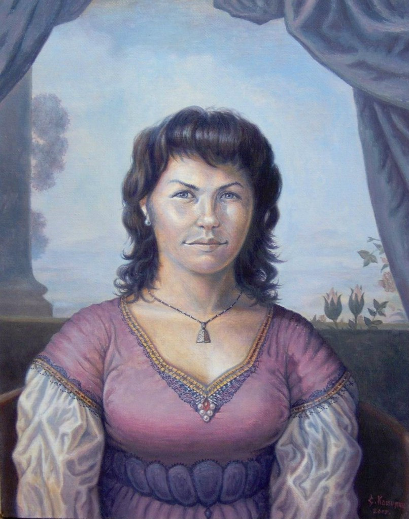 Stepan Vladimirovich Kashirin. Portrait Of Lena