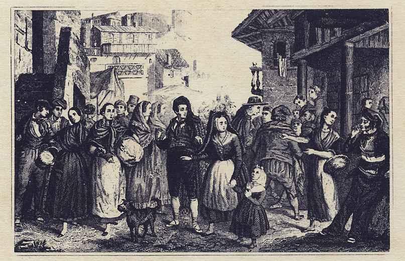 Хосе Пуиггари. Рынок в каталонской деревне