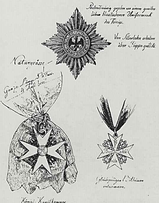 Адольф фон Менцель. Награды ветеранов.Старинные ордена