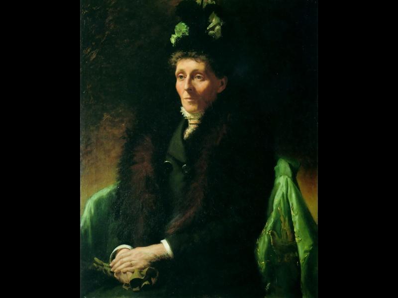 Чарльз Голди. Портрет матери Марии