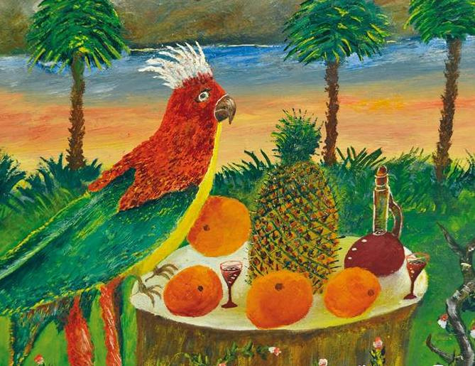 Vasily Vasilyevich Grigoryev. Parrots Fragment