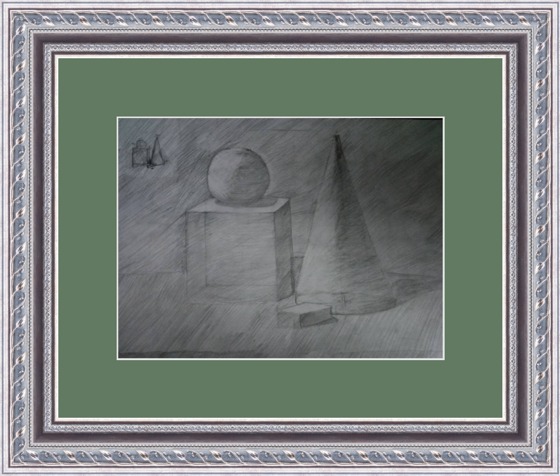 Art-Teodor Gallery. Shapes, drawing
