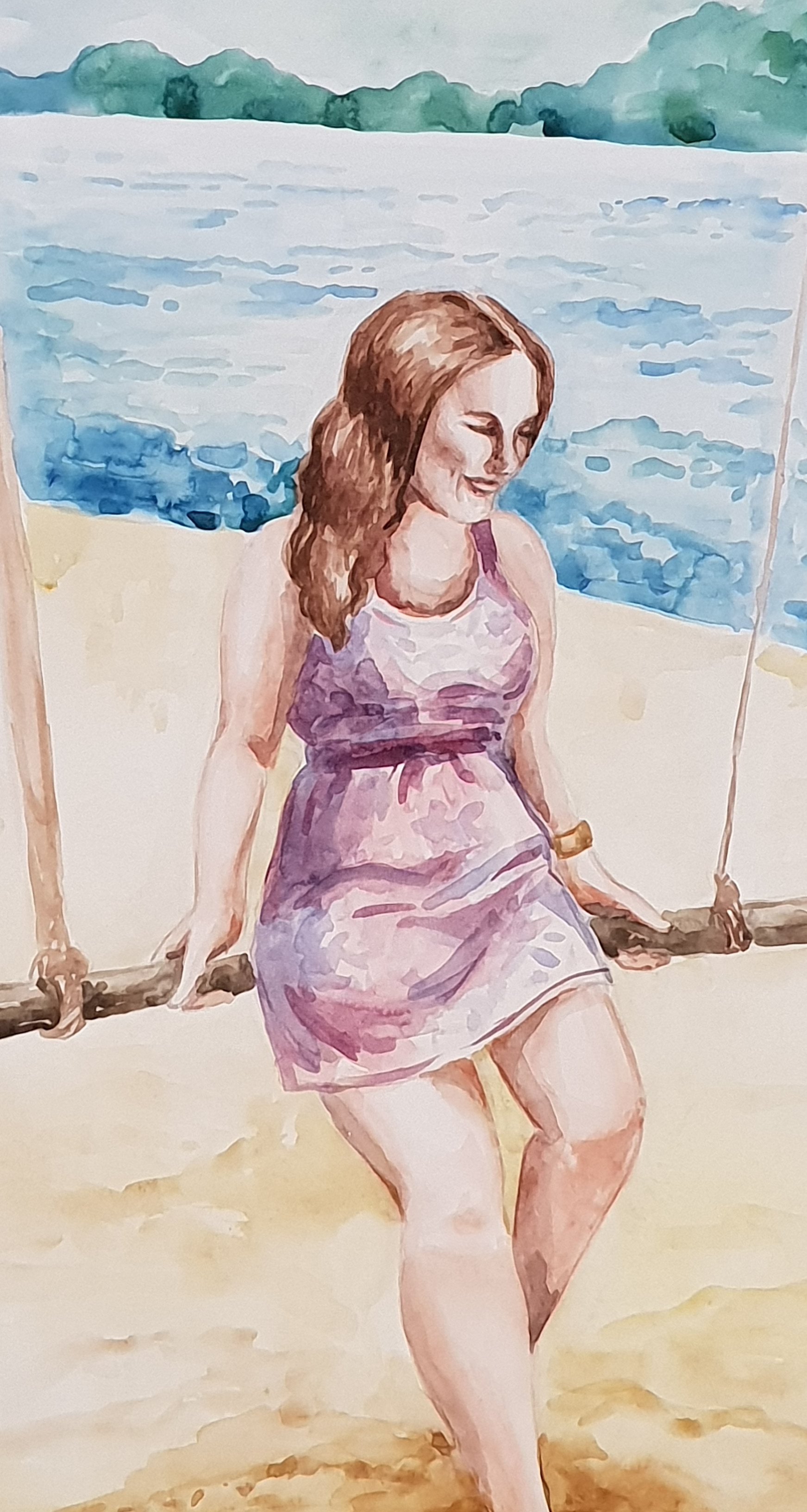 Irina Belyaeva. On a rest