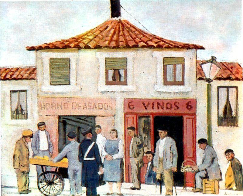 Хуан Еспландиу. Посетители