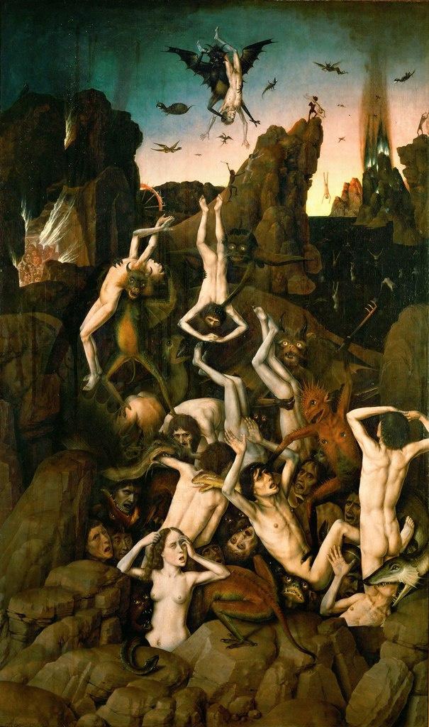 Дирк Баутс. Диптих Ад и Рай. Ад. ок.1450