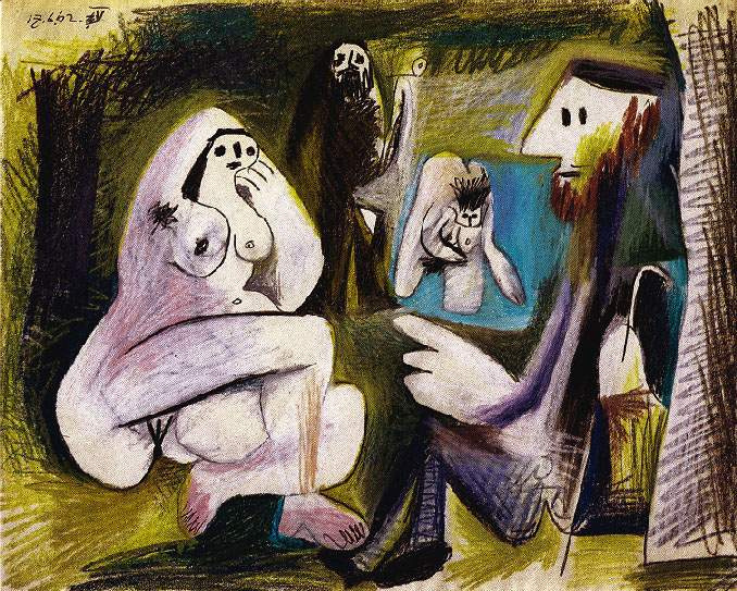 Пабло Пикассо. Обед на траве