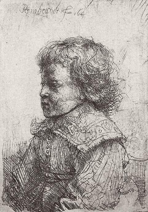 Рембрандт Харменс ван Рейн. Портрет мальчика