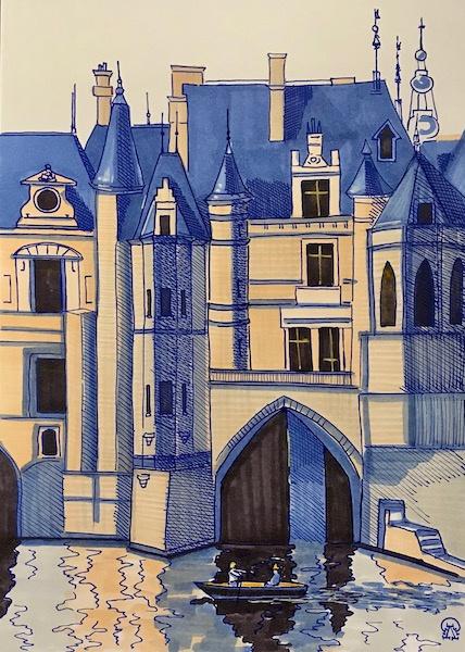 Лариса Луканева. Замок на воде. Скетч.