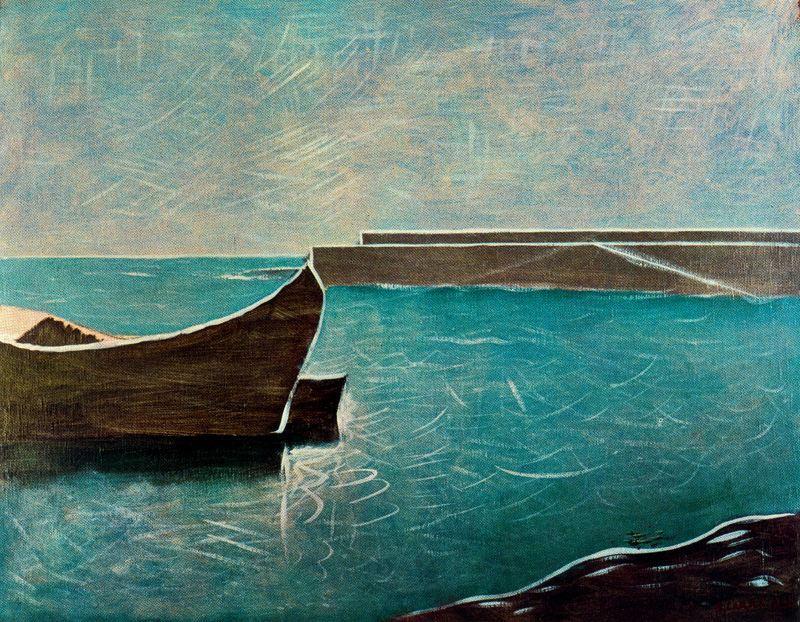 Карло Карра. Голубое море