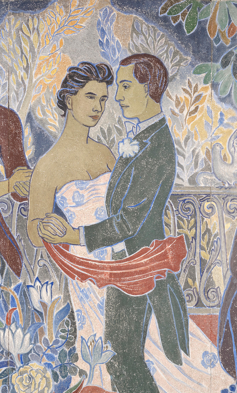 Tove Jansson. Holiday in the city. Fragment. Vivika Bandler with her lover