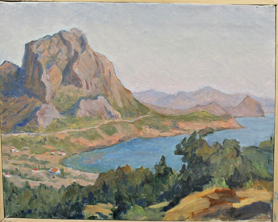 Alexander Nikolaevich Yurkov. Zander. View of Mount Falcon