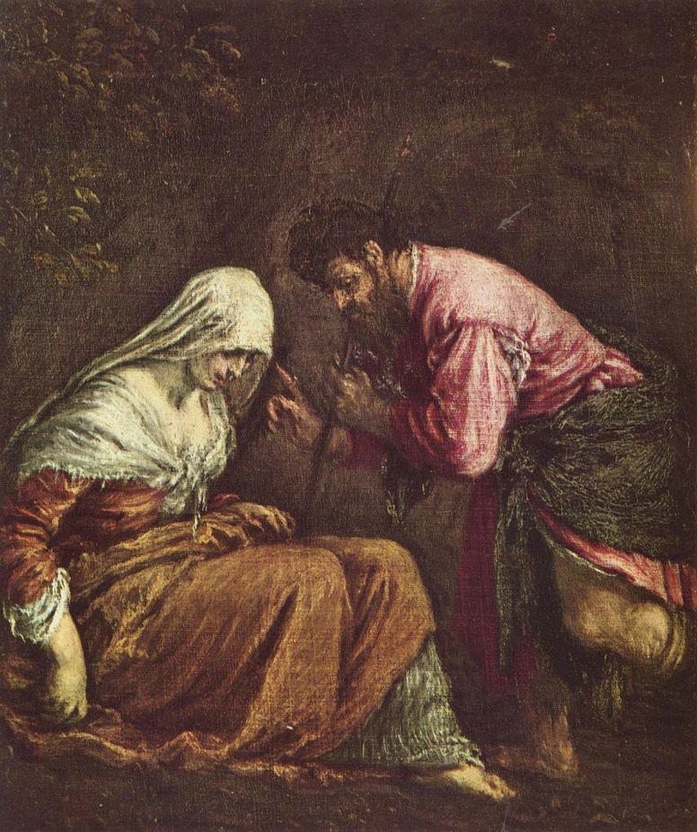 Jacopo da Ponte Bassano. Judith and Tamar