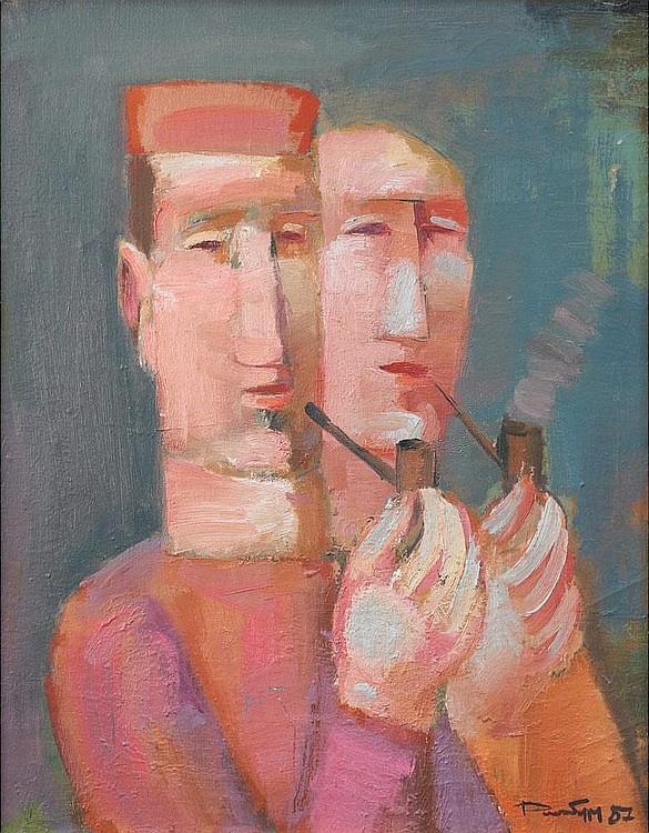 Alexander Anatolevich Roitburd. Smokers
