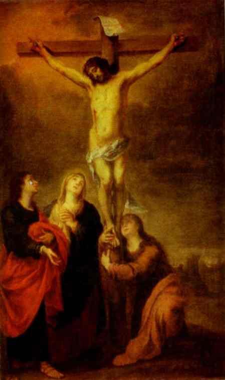 Бартоломе Эстебан Мурильо. Распятие Христа