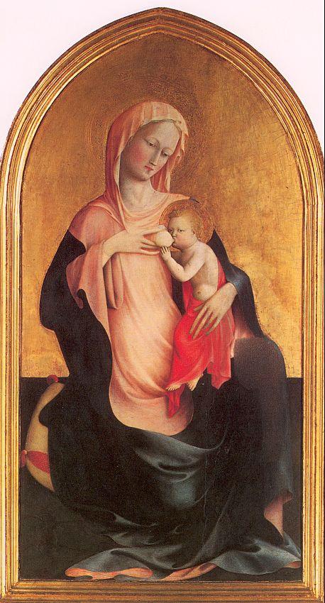 Томмазо Мазолино. Мария с младенцем