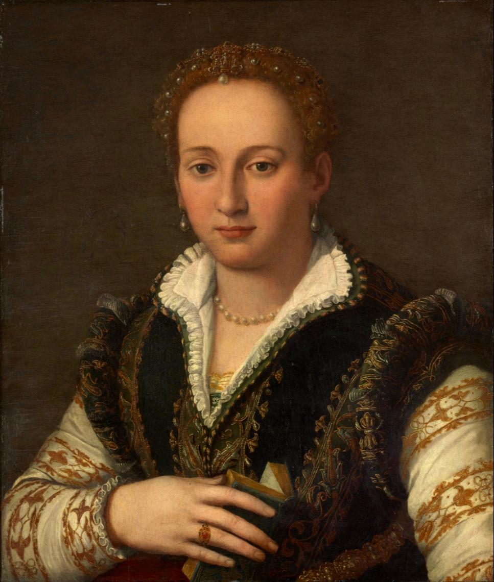 Alessandro Allori. Portrait of Bianca Capello. Nat Museum of Western Art, Tokyo
