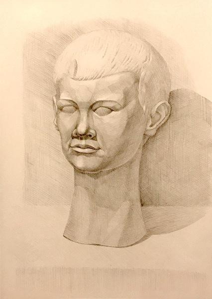 Larissa Lukaneva. Голова