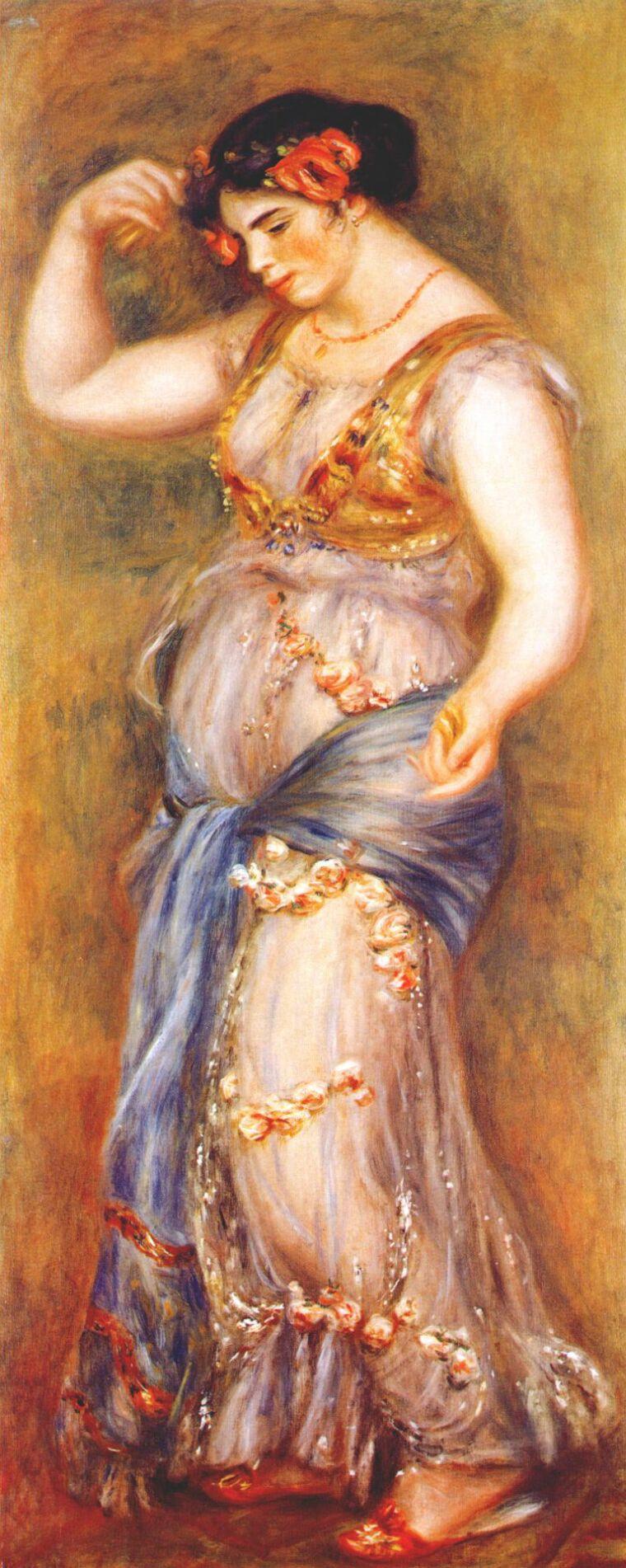 Pierre-Auguste Renoir. Dancer with castanets