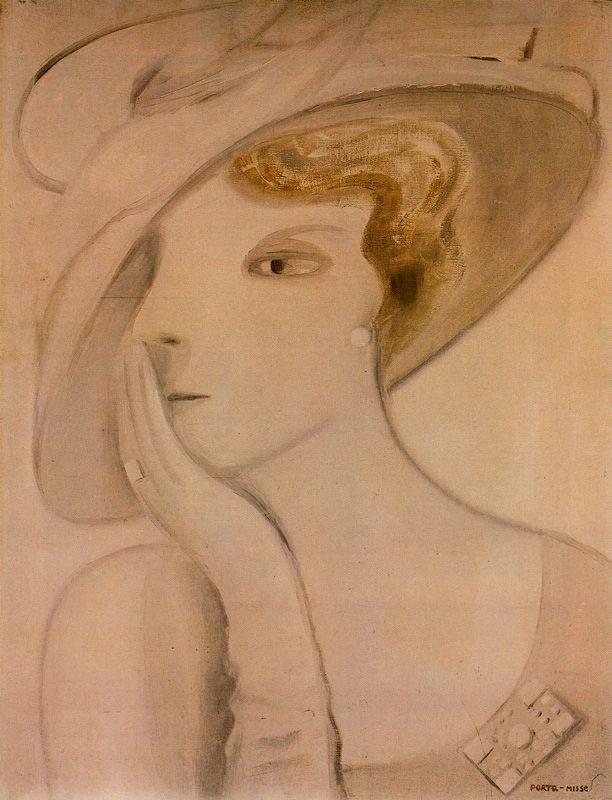 Порта Мисс. Девушка в шляпе