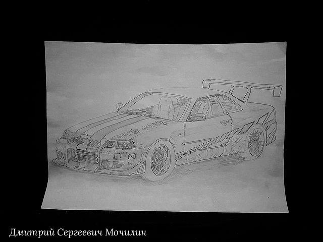 Dmitry Mochilin. Nissan Skyline