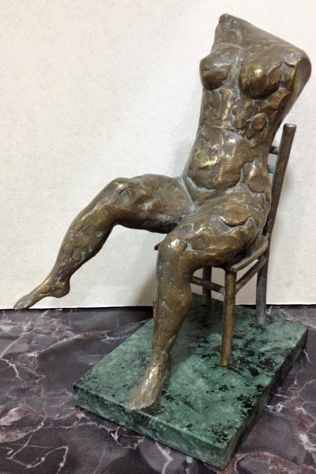 Nude (bronze, marble) by David Oganesian: History, Analysis & Facts