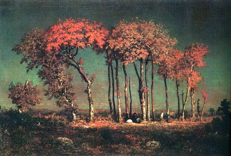 Теодор Руссо. Деревья