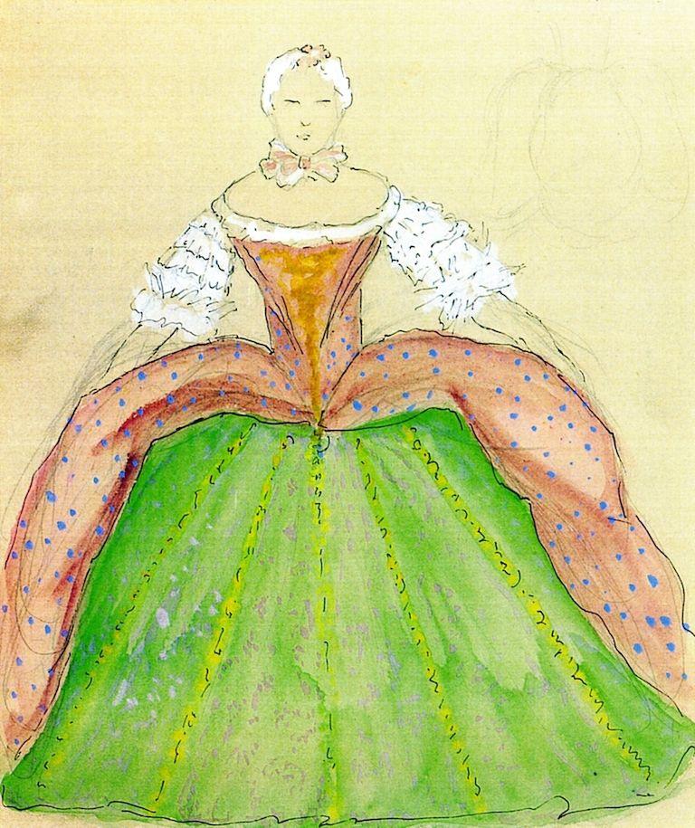 Marianne von Werefkin. Female figure