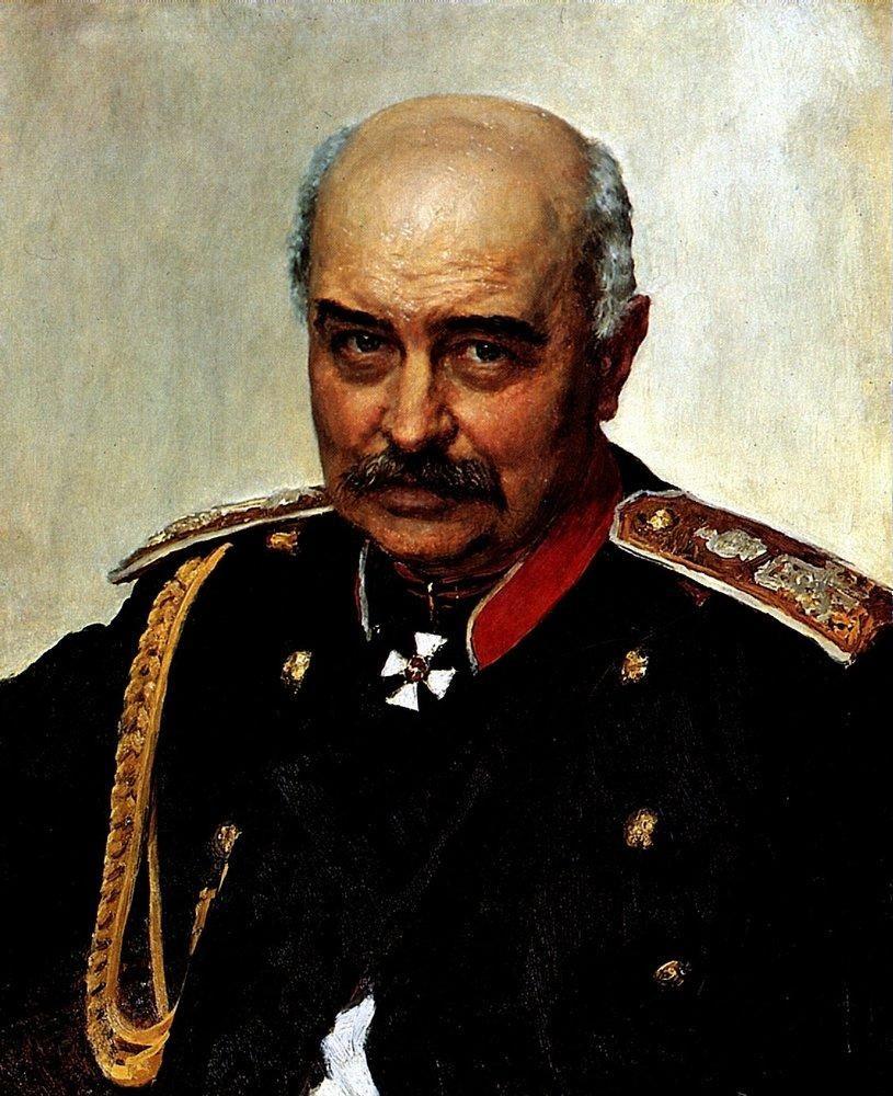 Илья Ефимович Репин. Портрет М. И. Драгомирова