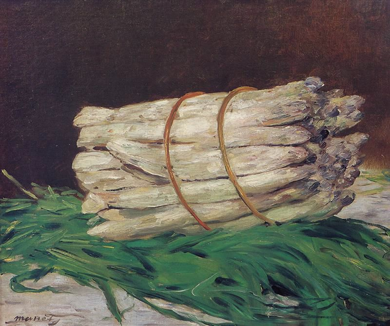 Edouard Manet. A bunch of asparagus